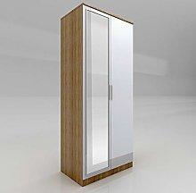 ELEGANT Modern High Gloss Soft Close 2 Doors