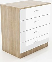 ELEGANT Modern High Gloss Wardrobe and Cabinet