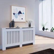 ELEGANT Radiator Covers Large Modern Vertical Slat