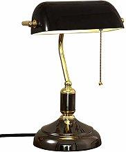 Elegant Retro lamp Bankers Table lamp Traditional