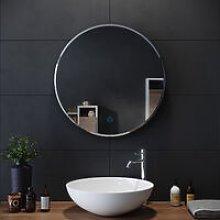 ELEGANT Round Bathroom Mirror Illuminated LED