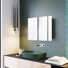 ELEGANT Stainless Steel Bathroom Mirror Cabinet