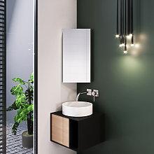 Elegant - Stainless Steel Corner Cabinet 600 x 300