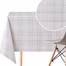 Elegant Tartan Wipe Clean Pattern Tablecloth -