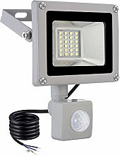 ELEING 20 W LED Outdoor Spotlight with Motion
