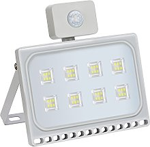 ELEING 50W Security Light with Motion Sensor,LED