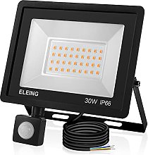 ELEING LED Security Light Outdoor, 30W 2400LM