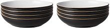 Elements 1050ml Pasta Bowl Denby Colour: Black
