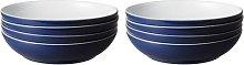 Elements 1050ml Pasta Bowl Denby Colour: Dark Blue