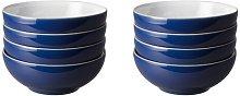 Elements 820ml Cereal Bowl Denby Colour: Dark Blue