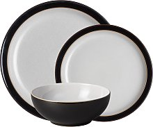 Elements Black 12 Piece Tableware Set
