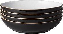 Elements Black 4 Piece Pasta Bowl Set