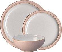 Elements Sorbet Pink 12 Piece Tableware Set