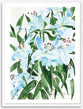 Elena Blanco - 'Birthday Flowers' Framed