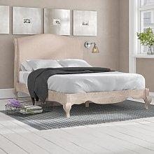 Elena Upholstered Bed Frame Lily Manor