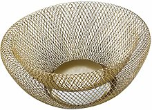 Elenxs Double Wall Mesh Decorative Fruit Basket