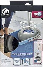 Elephant 496859 Washing Kit, White Blue, Box