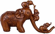Elephant Sculptures and Statues for Home Decor,