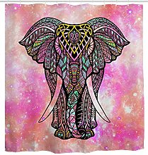 Elephant Shower curtain by Mimihome, Indian