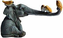 Elephant Statues and Figurines Home Decor,