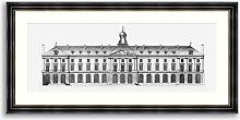 Elevation II - Framed Print & Mount, 52 x 107cm,