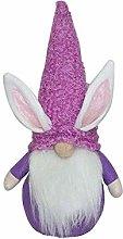 ElevenTen Easter Bunny Decor Plush,Easter