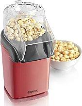 Elgento Popcorn Maker, Non-slip Feet, 1200 W, Red