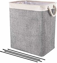 Elibeauty Foldable Laundry Basket,Large Linen