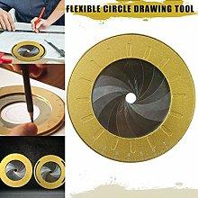 Elikliv Stainless Steel Circle Drawing, Adjustable