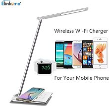 Elinkume 48 LED Desk Lamp with Wireless Charger