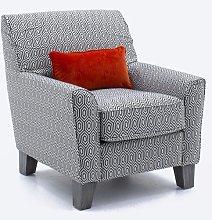Eliora Armchair Ebern Designs Upholstery Colour: