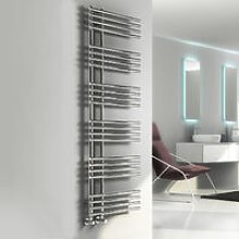 Elisa Designer Heated Towel Rail 1550mm H x 500mm
