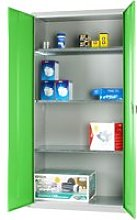 Elite Industrial Cupboard, Green, Free Standard