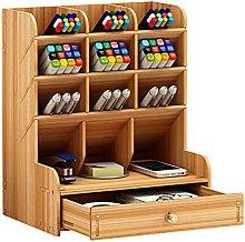 EliteKoopers 1Pcs Brown Wooden Multi-function