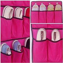 EliteKoopers 20 Pocket Hanging Over Door Shoe 10