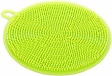 EliteKoopers Green Silicone Dish Washing Sponge