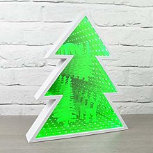 EliteZotec New Xmas Tree Infinity Decorations Home