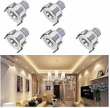 Elitlife 5-Packs Small Recessed Ceiling Lights,