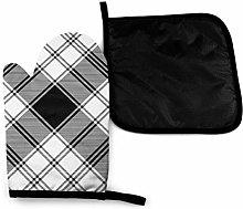 Eliuji Black White Check Diagonal Texture Plaid