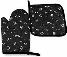 Eliuji Dark Space, Oven Mitts and Pot Holders