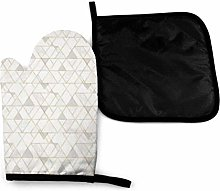 Eliuji Mod Triangles S White Gold Oven Mitts and