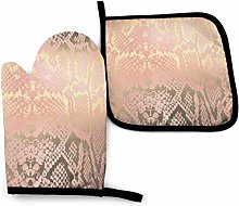 Eliuji Oven Mitts and Pot Holders Sets