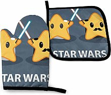 Eliuji Star War-s Oven Mitts and Potholders BBQ