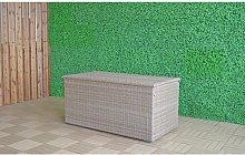 Elizabeth Weave Cushion 800 L Rattan Storage Box