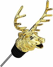 Elk Head Red Wine Pouring Device Wine Stopper