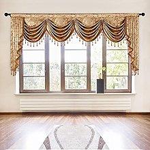 ELKCA European Curtain Valances for Living Room