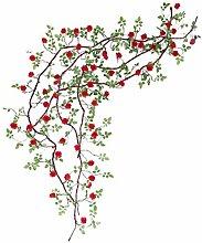 ellaLuna Artificial Fake Flowers String Silk Roses