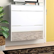 Ellari 12 Pair Shoe Storage Cabinet Zipcode Design