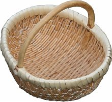 Ellie Shopping Wicker Basket Brambly Cottage