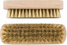 Elliott Wooden Shoe Brush Set, Brown